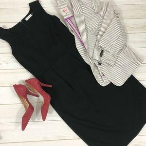 Calvin Klein Black Sheath Dress - Size 4